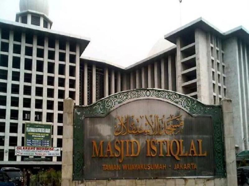 Masjid Istiqlal Bisa Dimasuki Masyarakat Jelang Raja Salman Kota Administrasi
