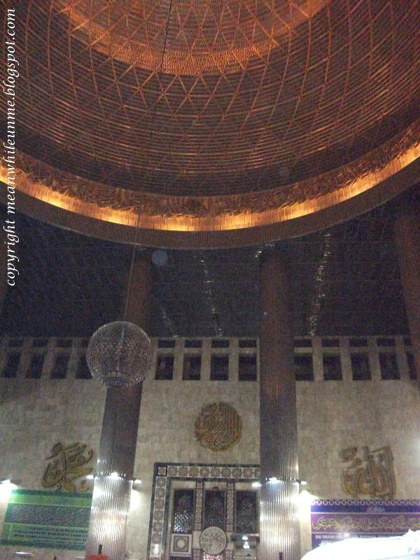 Masjid Istiqlal Terbesar Asia Tenggara Ornamen Kota Administrasi Jakarta Pusat
