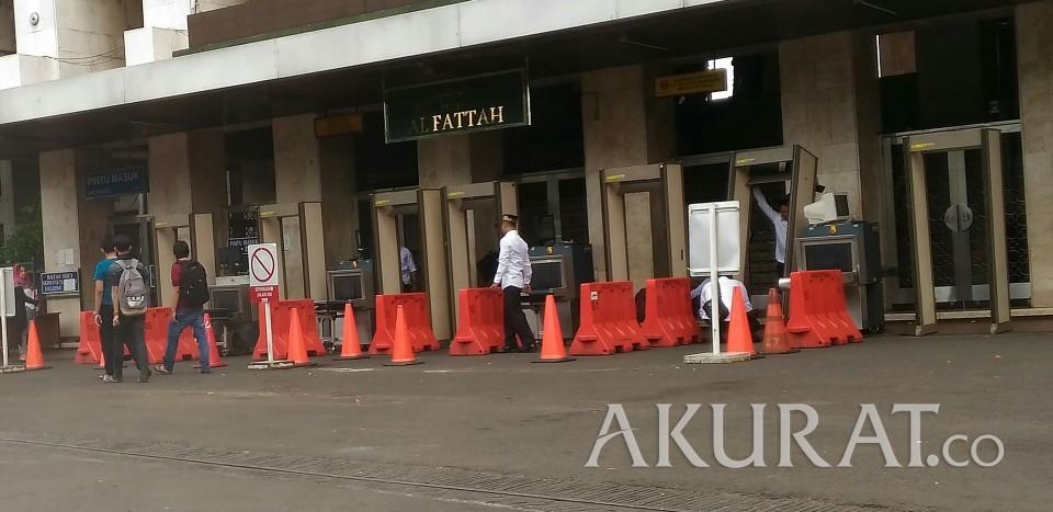 Pertama Presiden Jokowi Bakal Solat Masjid Istiqlal Tarawih Kota Administrasi