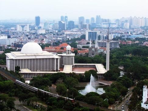 Rindu Masjid Istiqlal Jakarta Kota Administrasi Pusat