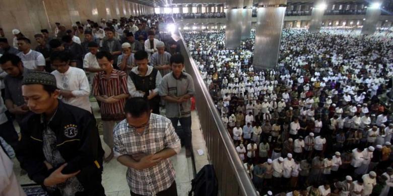 Sebanyak 200 000 Umat Muslim Diprediksi Shalat Idul Adha Masjid
