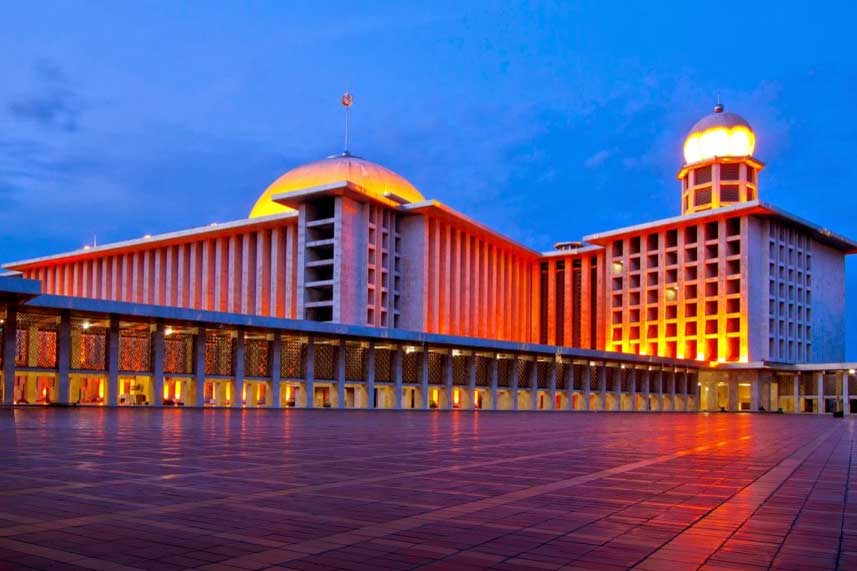 Tempat Wisata Jakarta Pusat Tidak Tau Gambar Masjid Istiqlal Kota