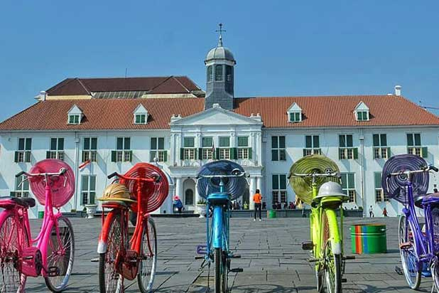 Tempat Wisata Jakarta Pusat Tidak Tau Kota Masjid Istiqlal Administrasi