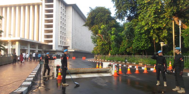Wapres Shalat Idul Fitri Masjid Istiqlal Kompas Kota Administrasi Jakarta