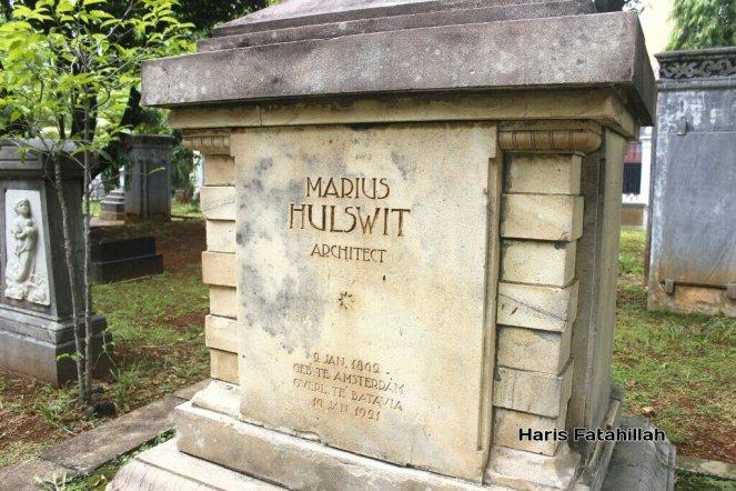 Memoar Museum Taman Prasasti Fatahilaharis Marius Hulswit Kota Administrasi Jakarta