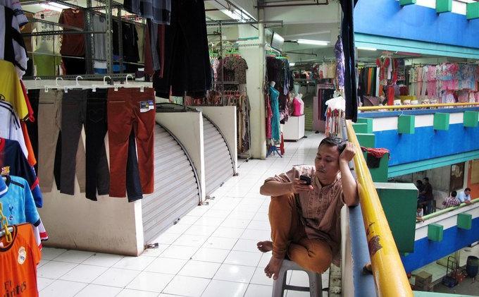 Kurang Lahan Parkir Pasar Blok Sepi Pengunjung Wartakota Wartakotalive Alex