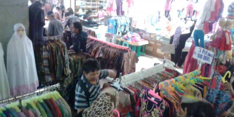 Sebelum Mudik Pasar Tanah Abang Diserbu Kompas Suasana Blok Jakarta