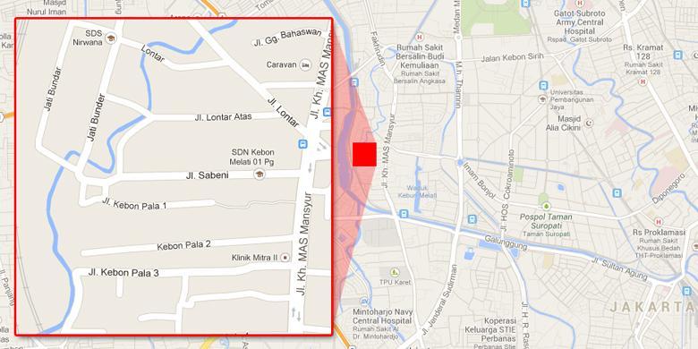 Wali Kota Jakpus Satukan Rumah Jagal Pasar Kambing Kompas Peta