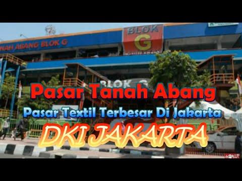 Wisata Indonesia Pasar Tanah Abang Pusat Belanja Murah Jakarta 05
