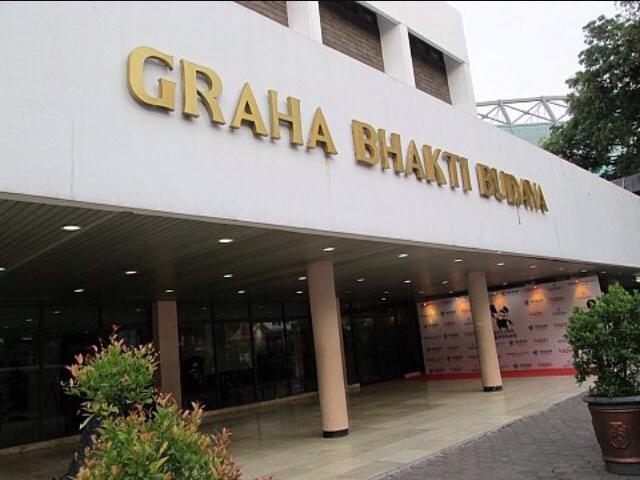 Keliling Jakarta Taman Ismail Marzuki Graha Bhakti Budaya Gedung Gunakan