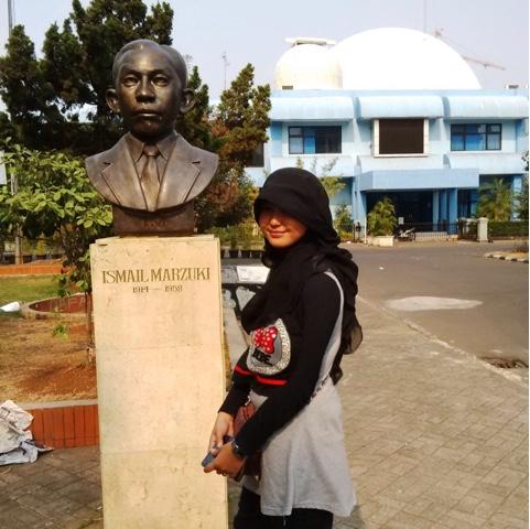 Keliling Jakarta Taman Ismail Marzuki Patung Kota Administrasi Pusat
