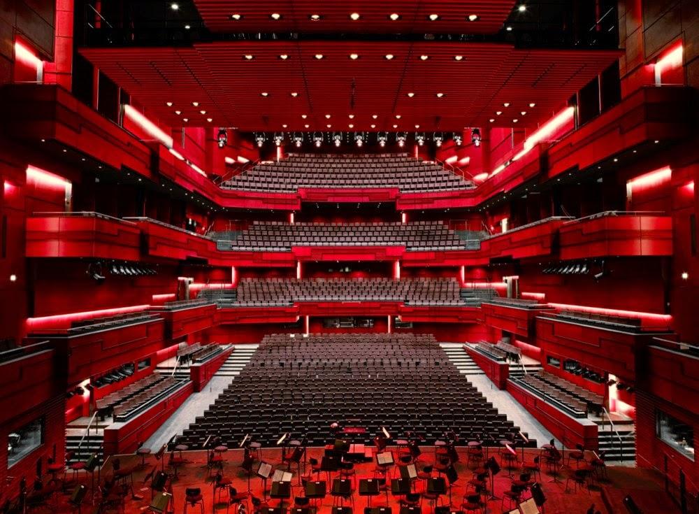 Kritik Arsitektur Teater Jakarta Meli Interior Concert Hall Sumber Http