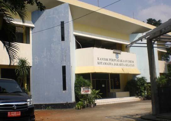 Perpustakaan Sudin Kearsipan Jakarta Selatan Kpak Taman Ismail Marzuki Kota
