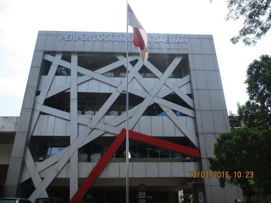 Perpustakaan Umum Jakarta Picture Taman Ismail Marzuki Tim Kota Administrasi