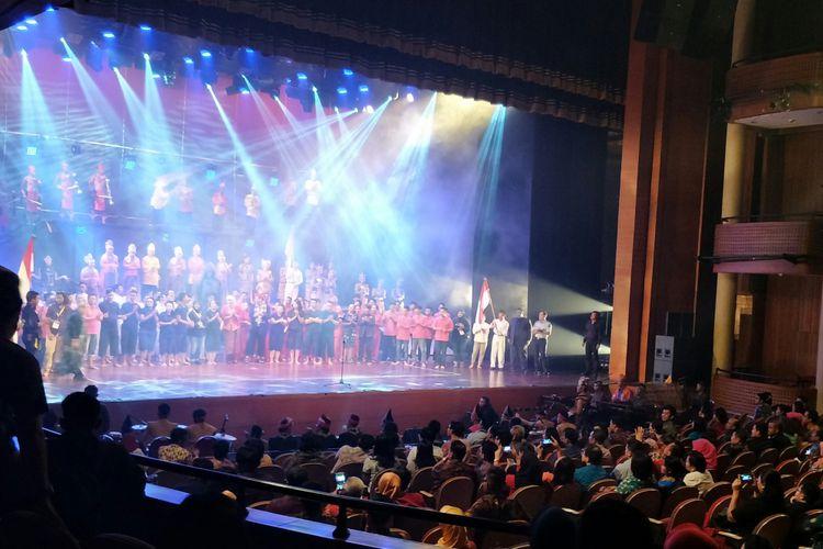 Ratusan Napi Gelar Drama Teater Tim Wiranto Nilai Istimewa Pergelaran