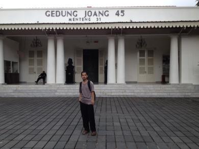 Wisata Sejarah Museum Joang 45 Taman Ismail Marzuki Dwipayana Jakarta