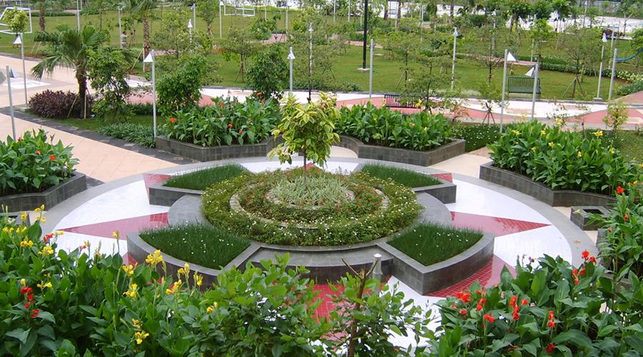 Dinas Kehutanan Taman Menteng Kota Administrasi Jakarta Pusat