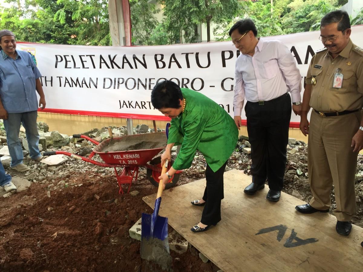 Gajah Tunggal Bangun Taman Kota Diponegoro Shnet Menteng Administrasi Jakarta