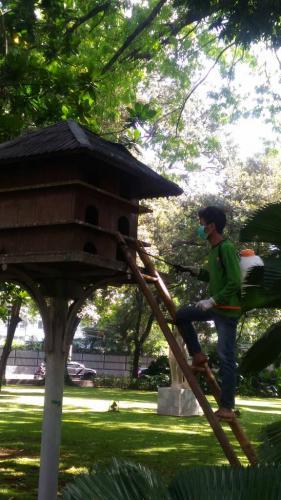 Jakarta Pusat Pemerintah Kota Administrasi Cegah Flu Burung Sudin Kpkp