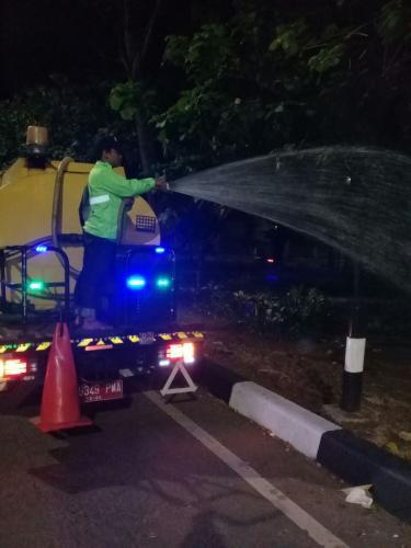 Jakarta Pusat Pemerintah Kota Administrasi Cuaca Ekstrim 26 Truk Dikerahkan