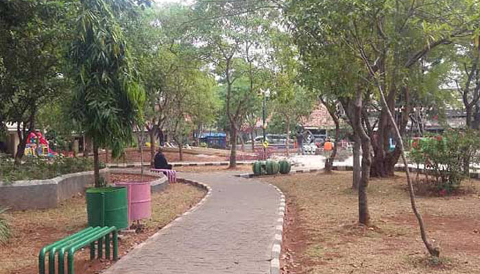 Jakarta Utara Tambah Rptra Poskota News Ilustrasi Taman Menteng Kota