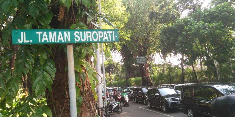 Jalan Taman Suropati Kisah Budak Voc Jatuh Cinta Putri Jakarta