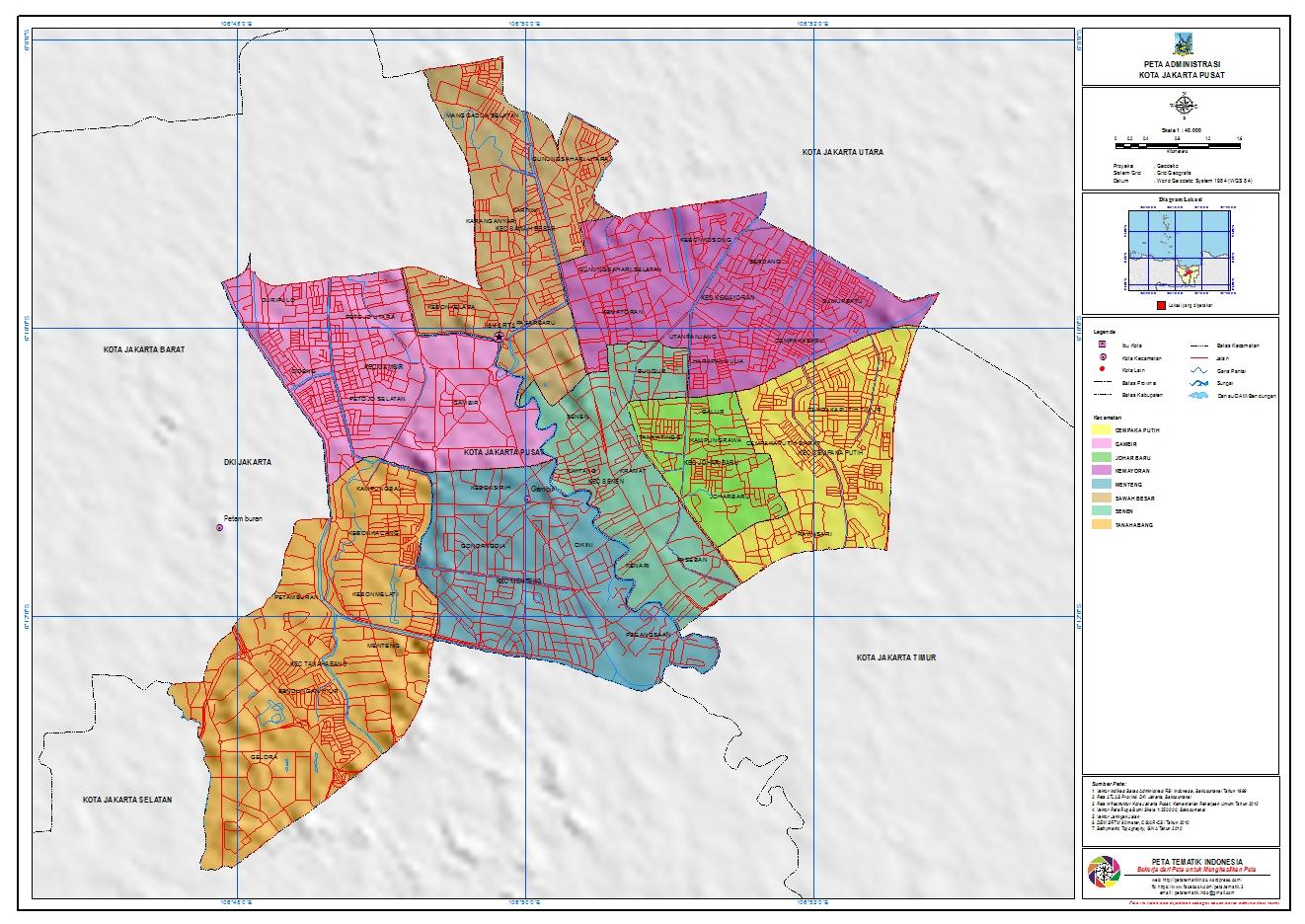 Kotakita Kota Jakarta Pusat Http Www Id Web System Jakarta2011