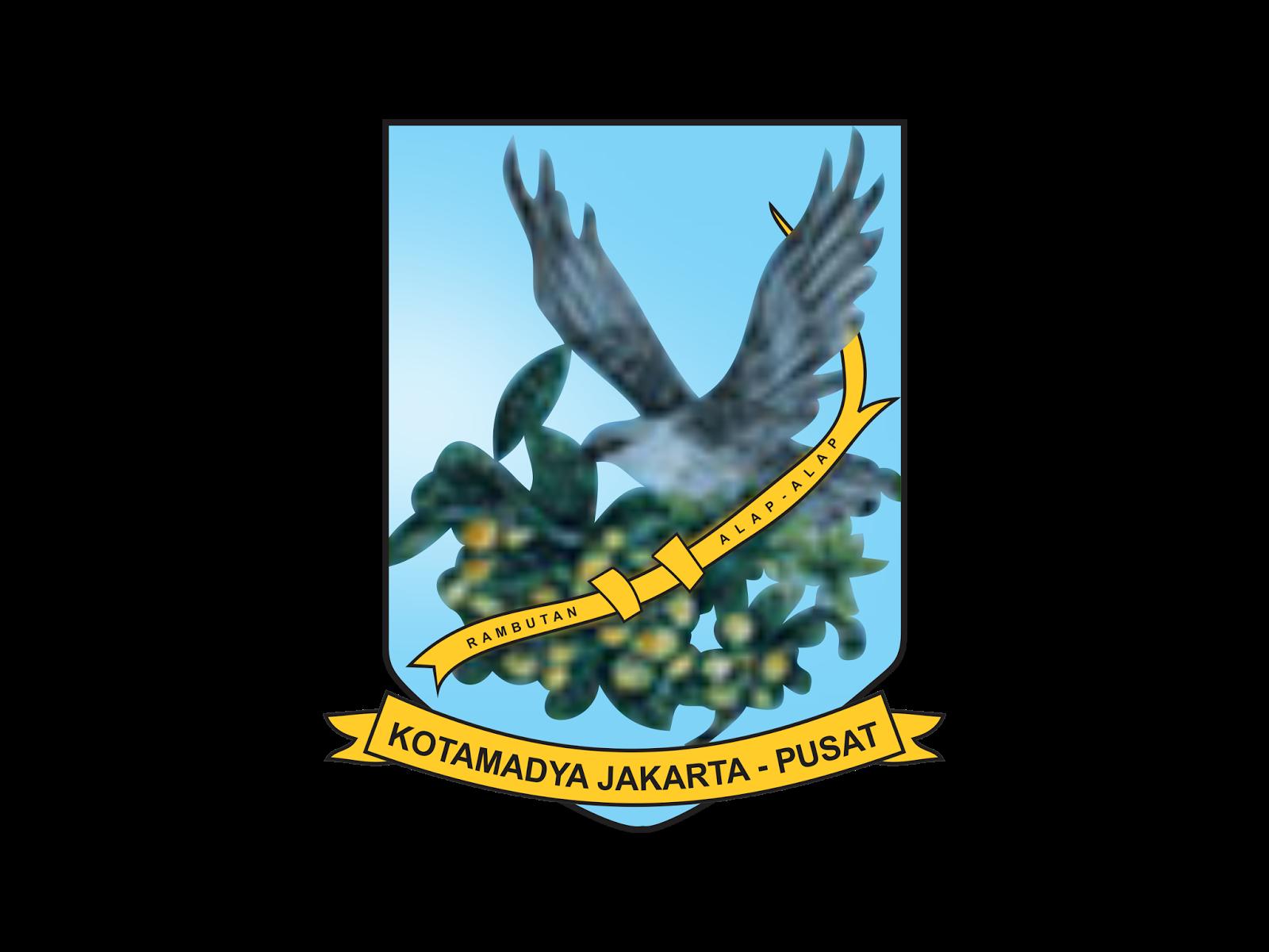 Logo Kota Administrasi Jakarta Pusat Vector Cdr Png Hd Gudril