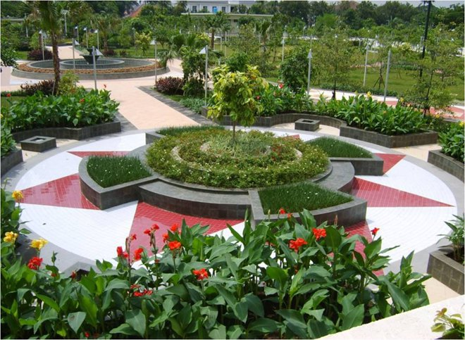 Menteng Park Wikipedia Taman Kota Administrasi Jakarta Pusat