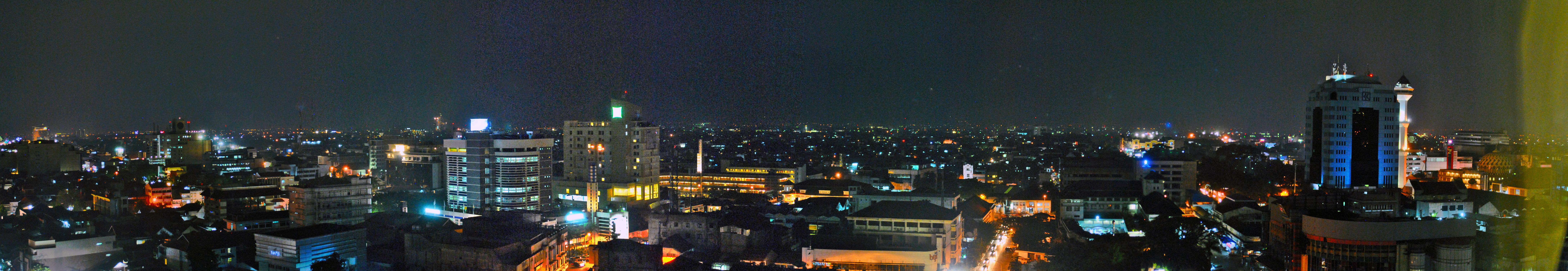 Bandung Wikipedia Night View City Center Taman Lembang Kota Administrasi