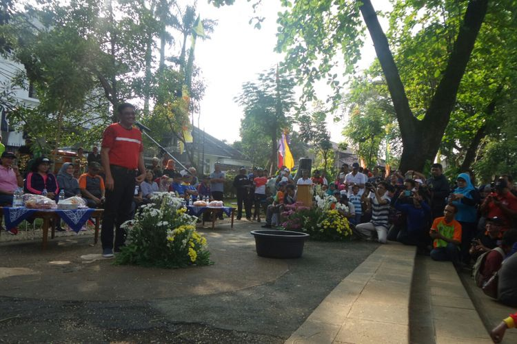 Djarot Tanya Pak Wali Berapa Danau Tidak Dibersihkan Gubernur Dki