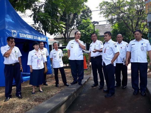 Jakarta Pusat Pemerintah Kota Administrasi Air Lembang Segera Ditambah Taman