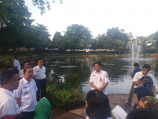 Jakarta Pusat Pemerintah Kota Administrasi Pemkot Jakpus Segera Keruk Lumpur