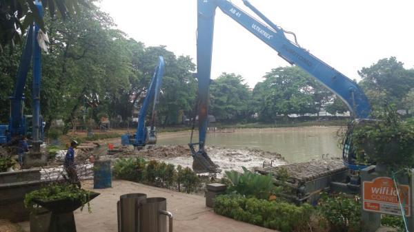 Jakarta Pusat Pemerintah Kota Administrasi Waduk Lembang Dikeruk Taman