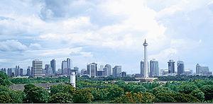 Jakarta Wikipedia Independence Era Edit Taman Lembang Kota Administrasi Pusat
