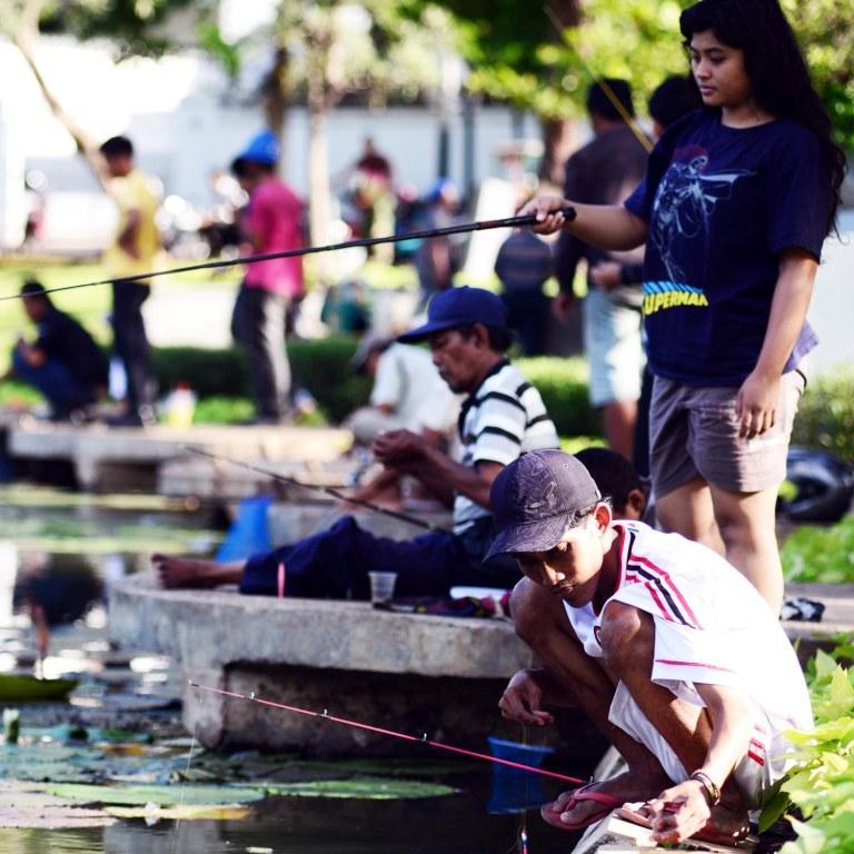Kedamaian Lembang Tengah Keriuhan Kota Taman Administrasi Jakarta Pusat