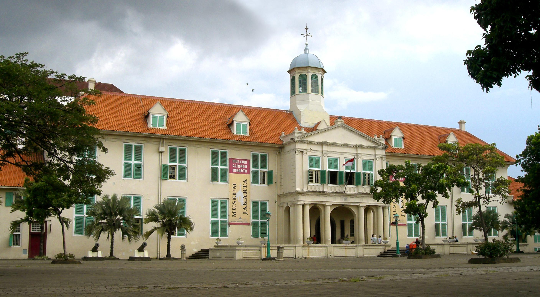 Stadhuis Batavia Jakarta Jpg Colonial Era Taman Lembang Kota Administrasi