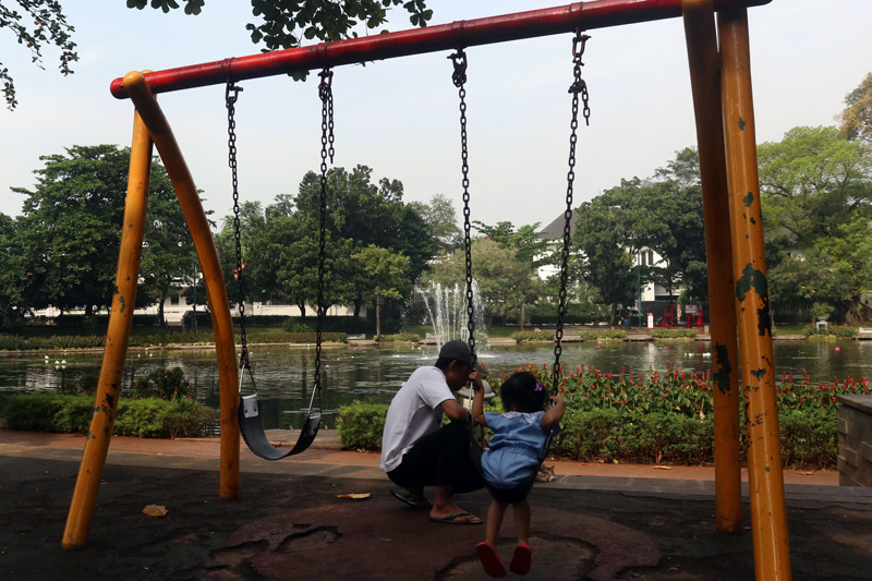 Taman Lembang Ditutup Kota Administrasi Jakarta Pusat