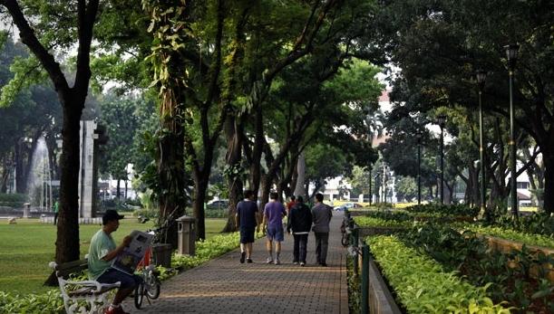 50 Tempat Nongkrong Jakarta Info Wisata Indonesia Taman Suropati Kota
