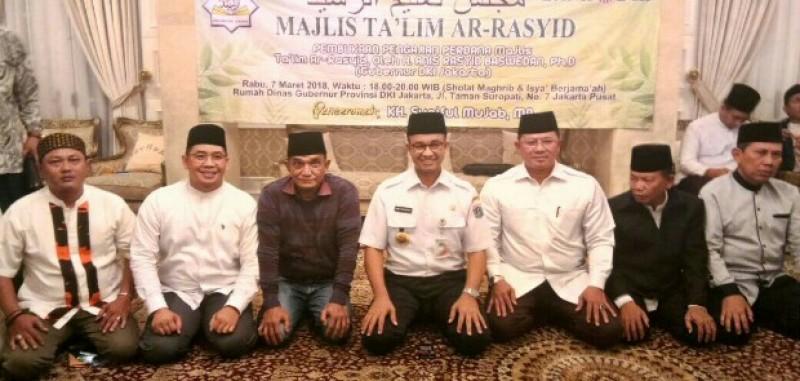 Anies Harap Majelis Ta Lim Ar Rasyid Berkontribusi Bagi Rabu