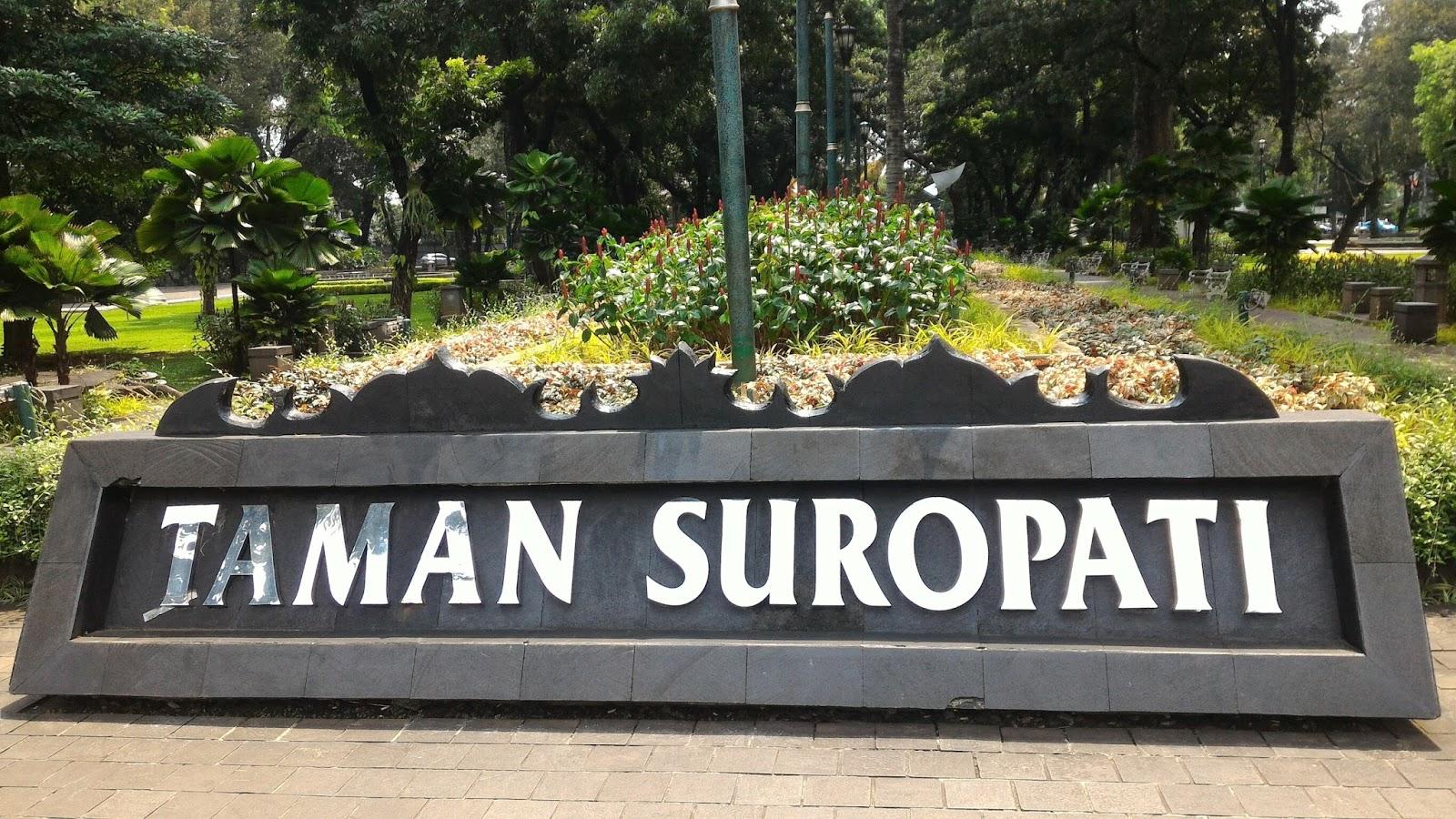 Muhammad Rizky Minardi Taman Suropati Teletak Jalan Diponegoro Jakarta Pusat