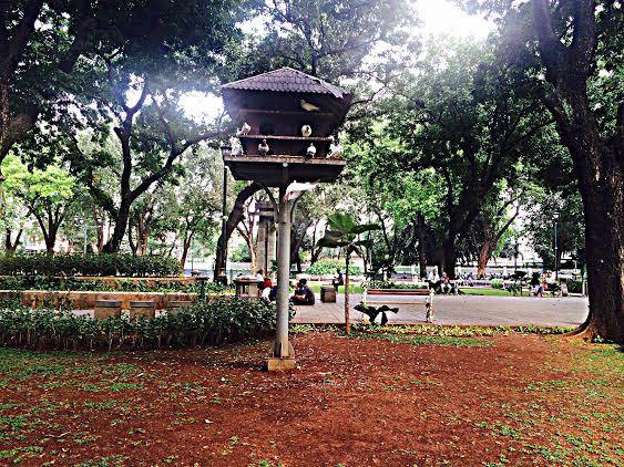 Ruang Terbuka Hijau Jakarta Yuk Suasana Taman Memang Cocok Belajar