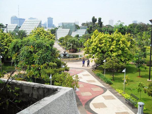 Taman Kota Jakarta Mempercantik Bermanfaat Rekreasi Menteng Hijau Asri Suropati