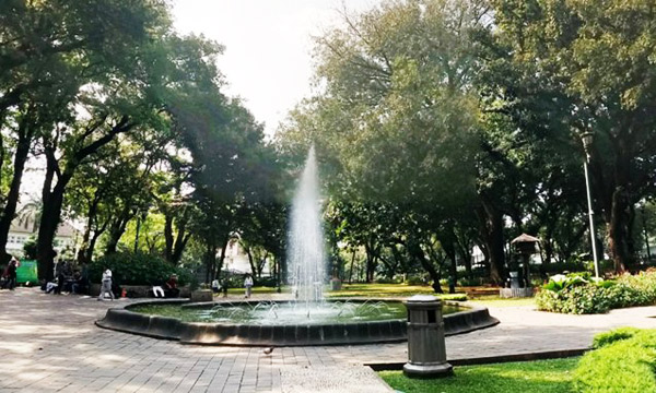 Taman Kota Jakarta Mempercantik Bermanfaat Rekreasi Pohon Rindang Suropati Administrasi