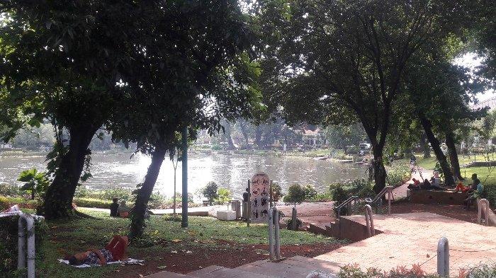 Taman Lembang Penghilang Jenuh Kebisingan Ibukota Jakarta Suropati Kota Administrasi