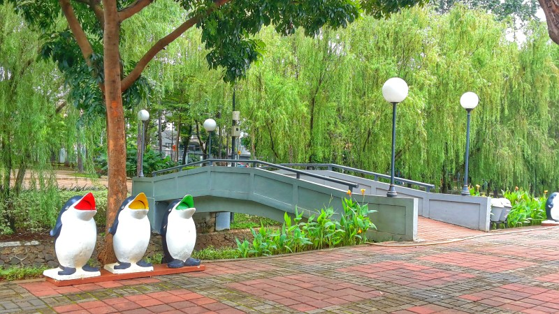 Wisata Alam Jakarta Tak Sepi Taman Honda Tebet Suropati Kota