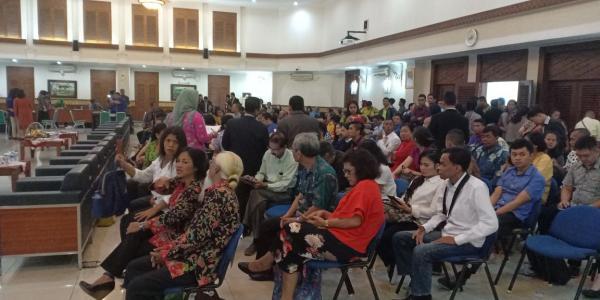 Jakarta Pusat Pemerintah Kota Administrasi Dinas Dukcapil Gelar Pencatatan Nikah