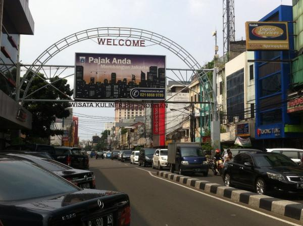 Jakarta Pusat Pemerintah Kota Administrasi Wisata Kuliner Pecenongan Terancam Ditutup