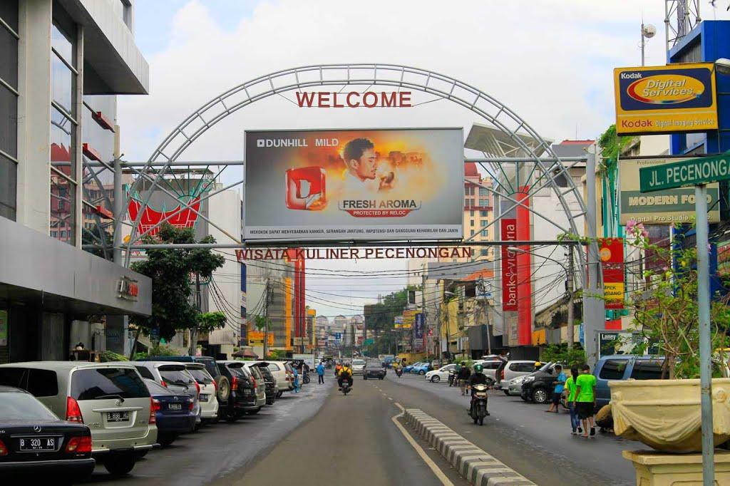 Kuliner Kaki Lima Pecenongan Kawasan Wisata Kota Administrasi Jakarta Pusat
