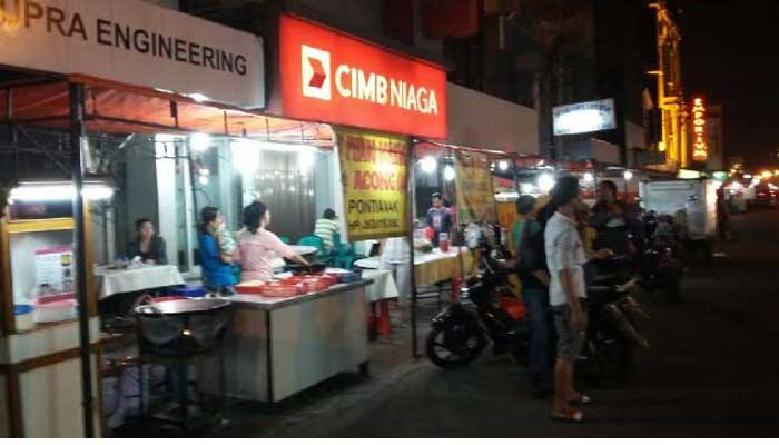 Lokasi Wisata Kuliner Jalan Pecenongan Tidak Dihapus Poskota News Suasana